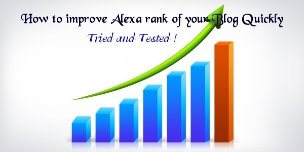 improve alexa rank quickly