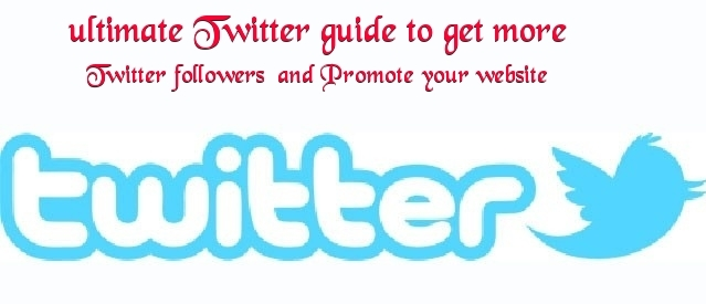promote your website on twitter