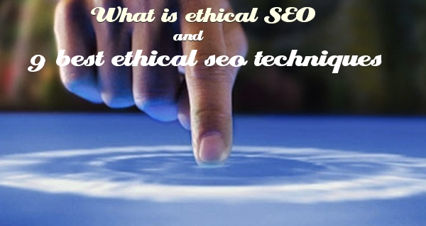 what is ethical seo