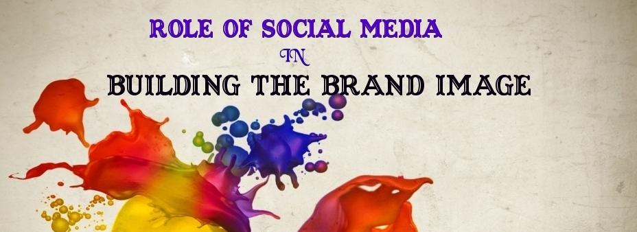 social media for brand brand image