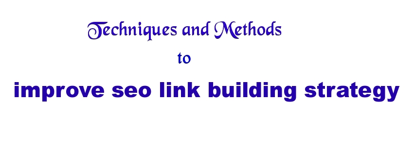 improve link building strategy