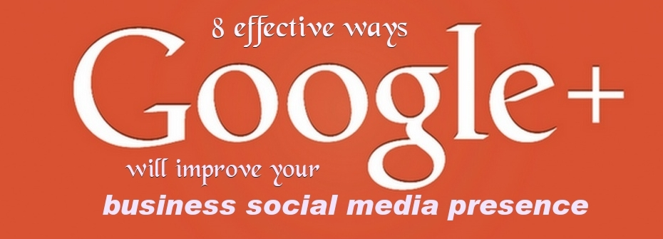 Improve social media presence of business