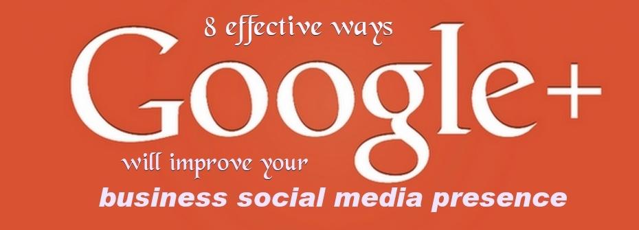 Improve social media presence of business