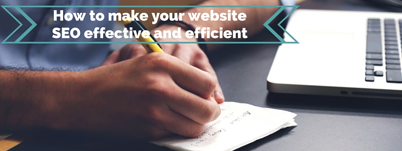 Effective and efficient website seo