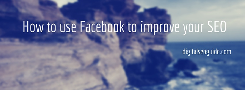 Facebook to improve your SEO