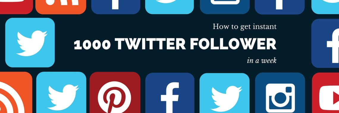 instant 1000 Twitter followers