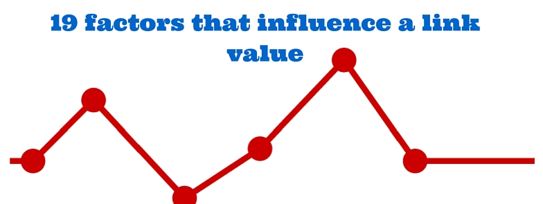 19 factors that influence a link value