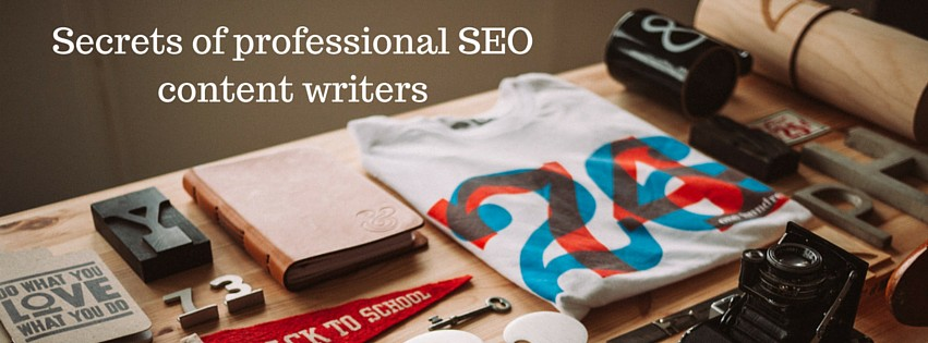 Secrets of professional SEO content writers