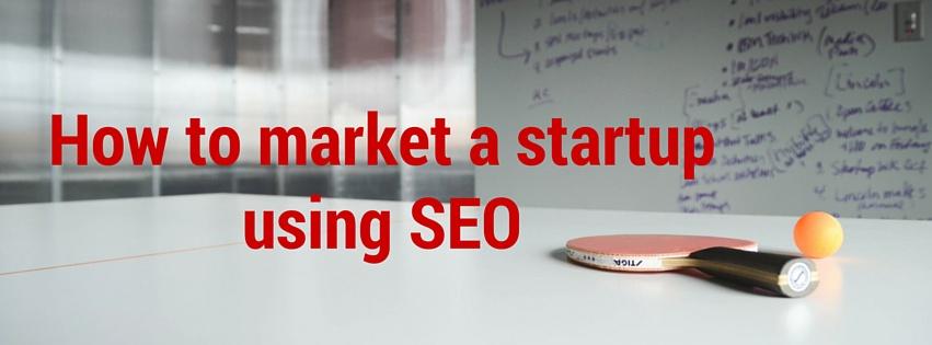 startup using SEO