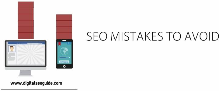 seo mistakes to avoid 2016