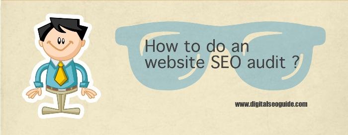 website seo audit
