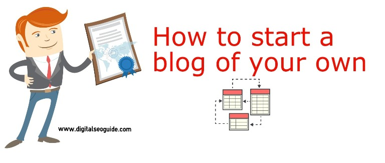 blogger's guide to start off with blog