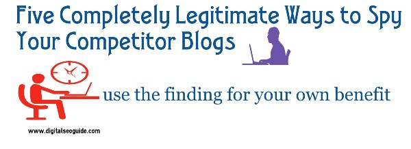 Spy Your Competitor Blogs