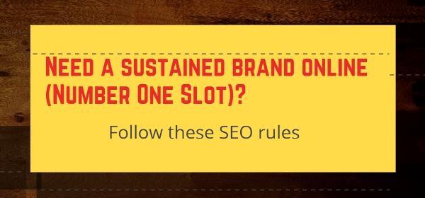 sustained brand online