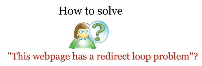 how to solve redirect loop