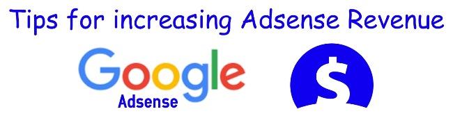 tips for increasing Adsense Revenue