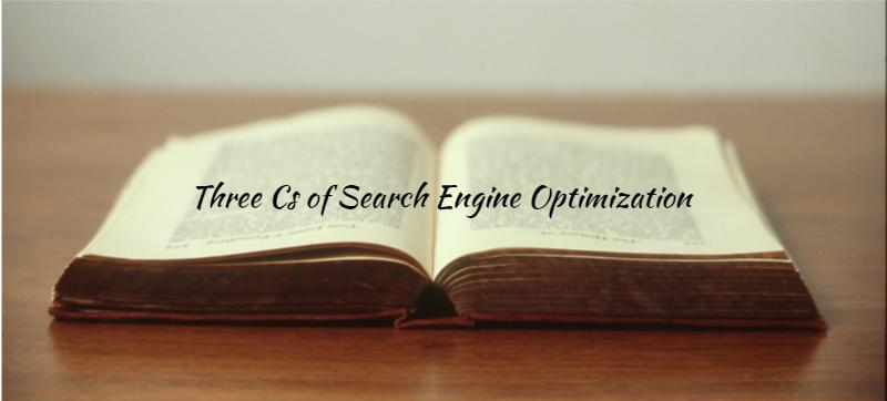 three Cs of Search Engine Optimization