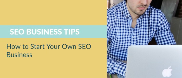 how to start own seo business