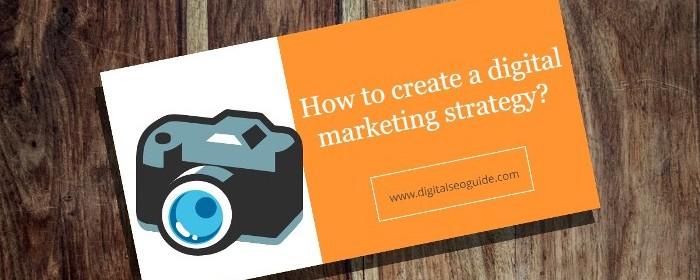 digital marketing strategy infographic