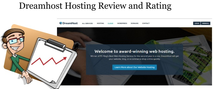Dreamhost hosting review and rating 2016