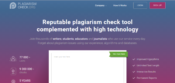 best plagiarism software