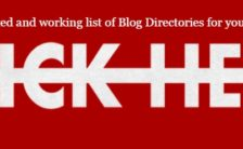 list of Blog Directories