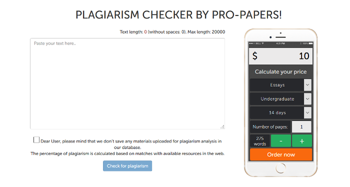 Advanced Plagiarism Checker Seo Tools