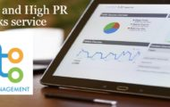 Organic and High PR Backlinks service