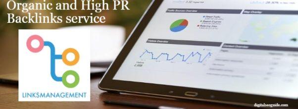 Organic and High PR Backlinks service