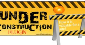 Free wordpress Under-Construction page plugin