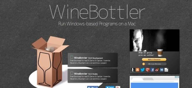Wineskin Download High Sierra