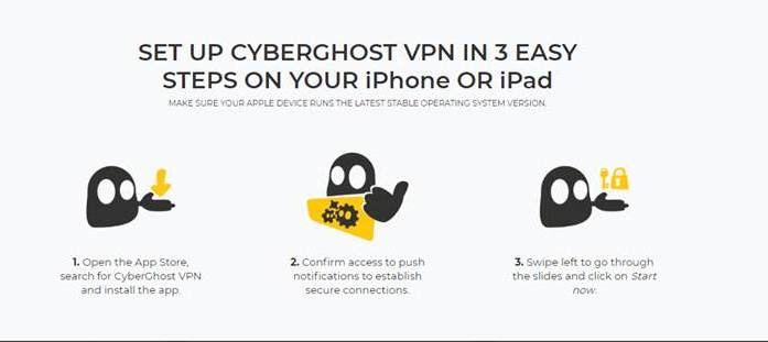 cyberghost vpn for iphone
