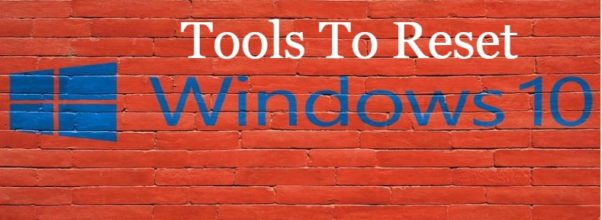 Tools To Reset Windows 10 Login Password