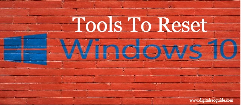 Tools To Reset Windows 10 Login Password
