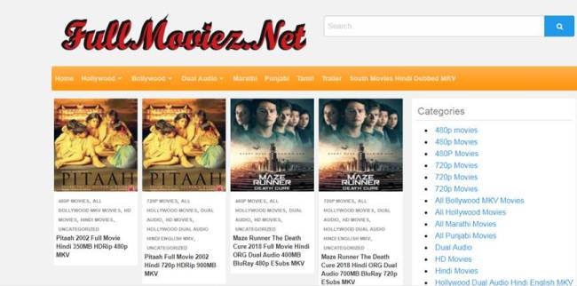 free hd english movies download sites