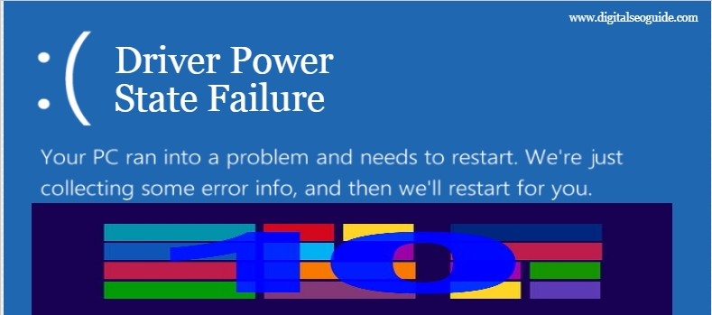 ways to Fix Driver Power State Failure in Windows 10