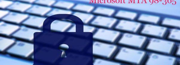 Microsoft MTA 98-365 exam