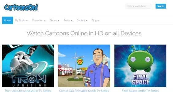 15 Best Sites to Watch Cartoons/Anime Online [Latest Sites]