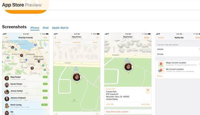 find my iPhone tracking app