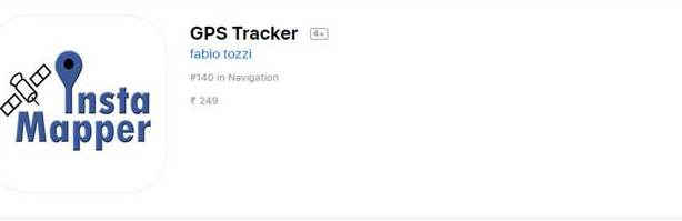 InstaMapper GPS tracking App