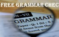 Free Grammar Checker