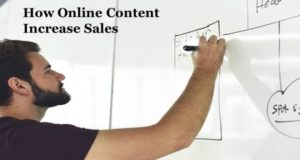 Does Online Content Increase Sales