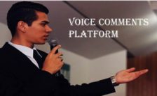 Voice Comments platform